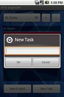 Screenshot of GTD Organizer Free