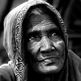TO THE NULL by Tuhin Biswas - People Portraits of Women