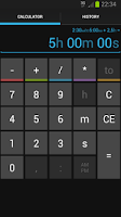 Screenshot of Time Calc