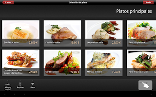 Screenshot of Vinipad Wine List & Food Menu