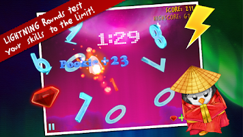 Screenshot of Ice Math Ninja: ZERO