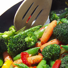 Stir-Fry with Orange Juice Sauce