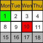 My Shift Calendar icon