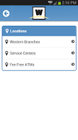 Screenshot of Western Federal Credit Union