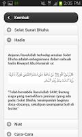 Screenshot of Solat Sunat