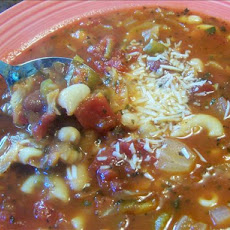 Meatless Italian Minestrone