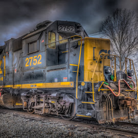 by Maurice FitzGerald - Transportation Trains ( engine, paorama, soraxtm, tennessee, train, tullahoma,  )