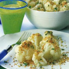 Cauliflower With Crispy Crumbs
