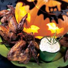 Bernice's Bat Wings With Swamp Dip