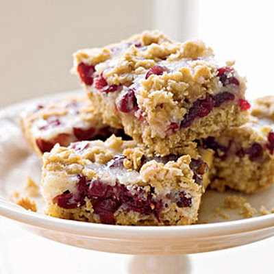 Cranberry-Oatmeal Bars