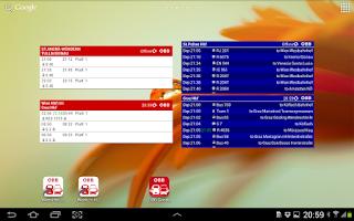 Screenshot of ÖBB Scotty