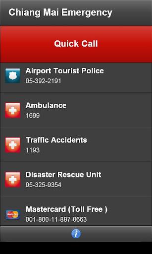 【免費旅遊App】Chiang Mai Emergency-APP點子