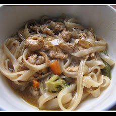 Jenner's Chickety China Rice Noodle Soup