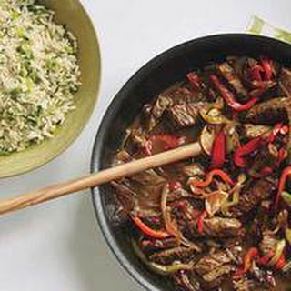 Festive Sherry Pepper Steak