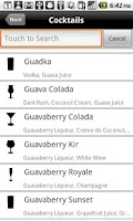 Screenshot of Mixologist™ Drink Recipes
