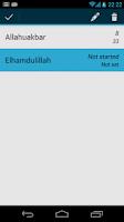 Screenshot of Dhikr
