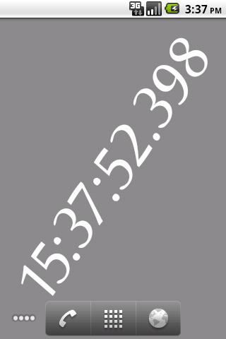 Clock Live Wallpaper farofa
