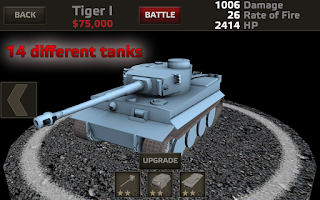 Screenshot of Tanks:Hard Armor Free