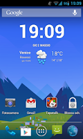 Screenshot of GoogleNowWallpaper
