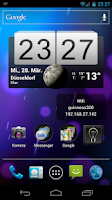 Screenshot of IP Widget