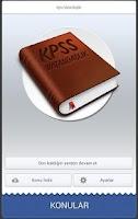 Screenshot of Kpss Vatandaşlık