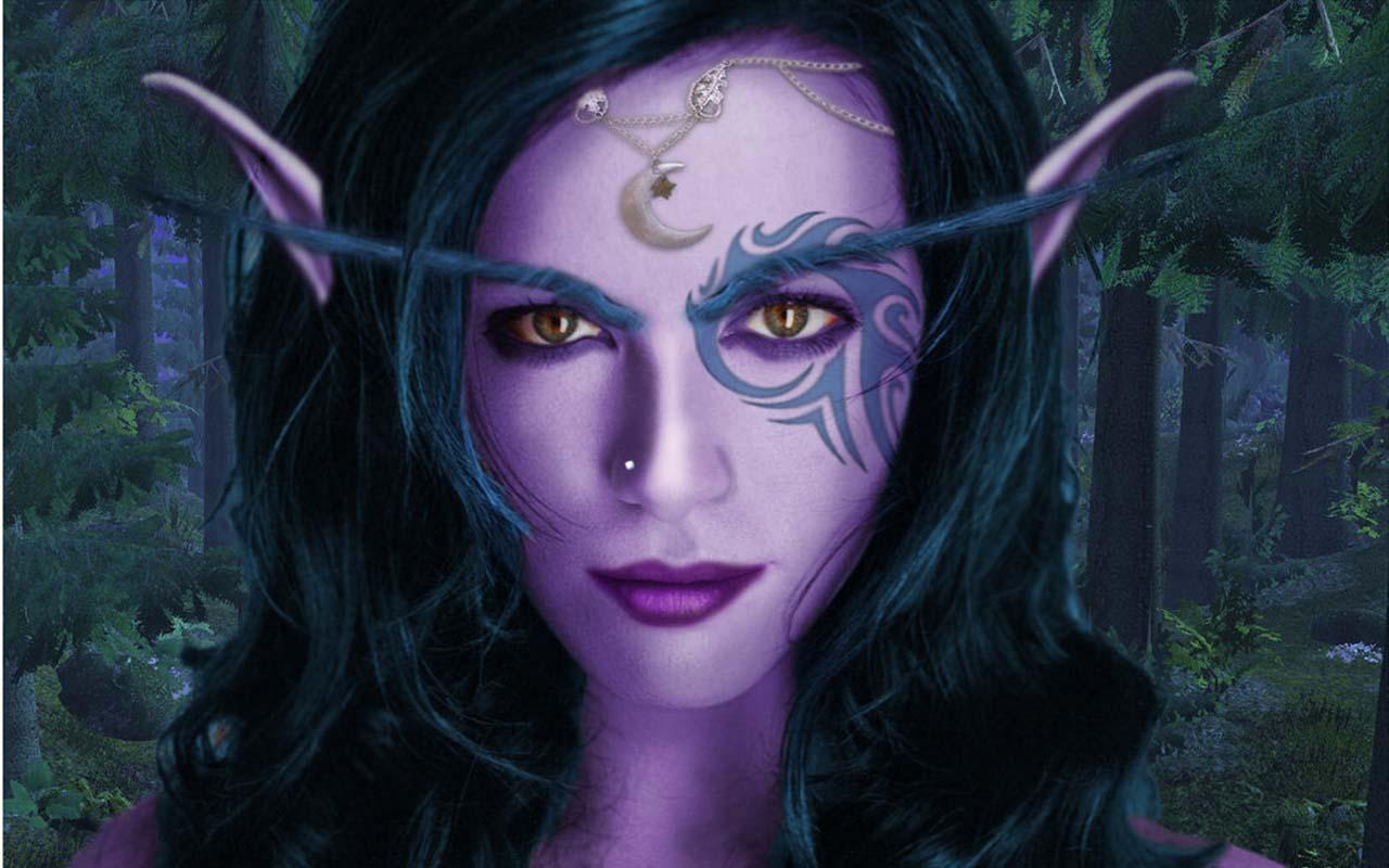 Night elves boo elves dark elves pichers  sex sluts