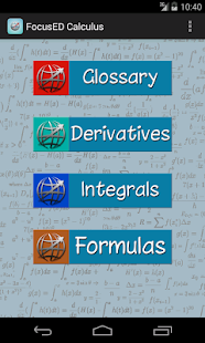 FocusED Calculus - screenshot