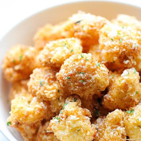 Oven Roasted Panko-Parmesan Cauliflower Recipe | Yummly