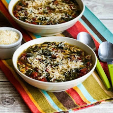 Italian Sausage and Kale Soup Recipe with Whole Wheat Orzo (or broken ...