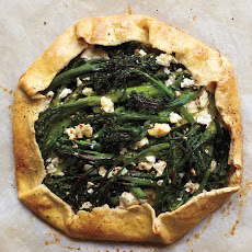 Broccolini and Feta Galette