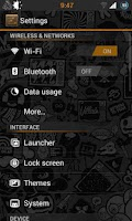 Screenshot of Label Lite CM9/CM10 Theme