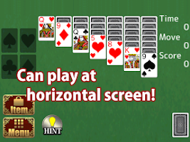 Screenshot of Royal Solitaire,Free Card Game