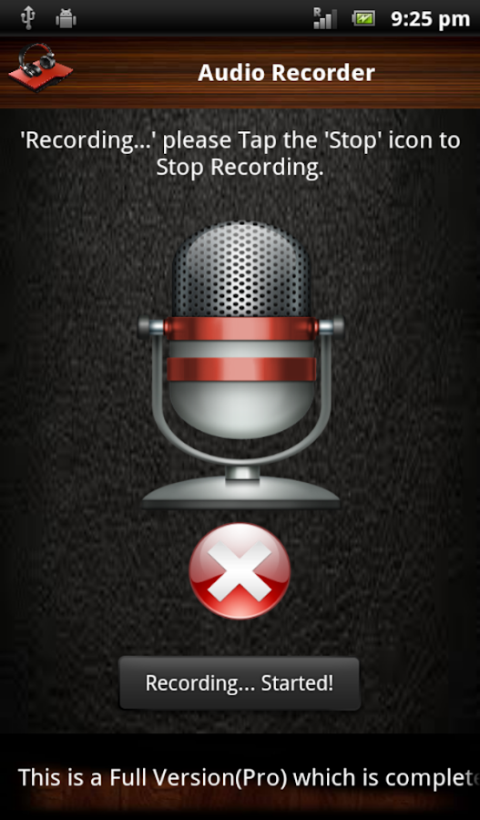 Audio and Video Recorder Pro Screenshot 8