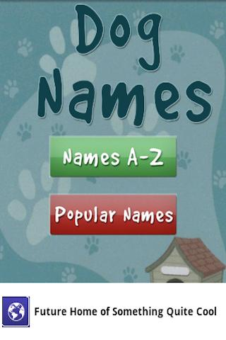 Free Dog Puppy Names