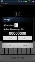 Screenshot of Binary Conversion Quiz