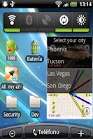 Screenshot of Traffic Cams Widget Demo
