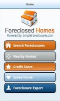 Screenshot of Foreclosures