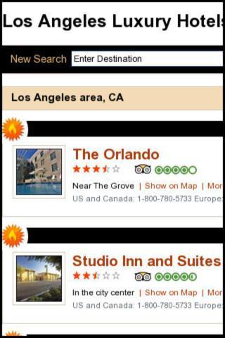 LA Luxury Hotels