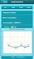 Screenshot of Health Tracker Pro