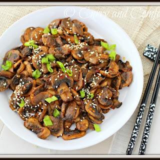 Stir Fried Button Mushroom Recipes