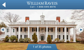 Screenshot of William Raveis Real Estate