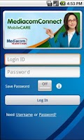 Screenshot of MediacomConnect
