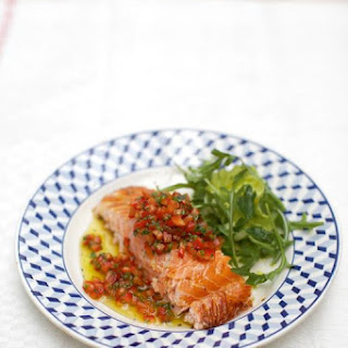Soy-baked Salmon With Zingy Salsa