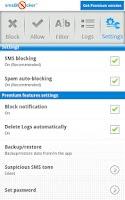 Screenshot of Blok Pesan sms Blocker