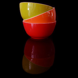 Bowls by Bibhu Kalyan Das - Artistic Objects Cups, Plates & Utensils ( color, colors, tabletop, utensils, bowls )