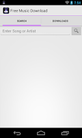 Screenshot of MusicApp MP3 Download
