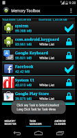 Screenshot of Memory Toolbox for Android