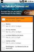 Screenshot of Ver Peliculas Cristianas