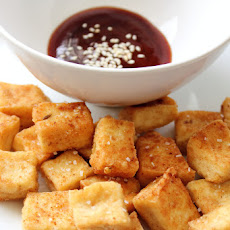 Crispy Fried Tofu & Sesame Dipping Sauce