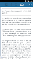Screenshot of NIV Study Bible by Zondervan